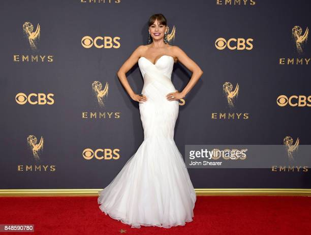 Actor Sofia Vergara attends the 69th Annual Primetime Emmy Awards at Microsoft Theater on September 17 2017 in Los Angeles California