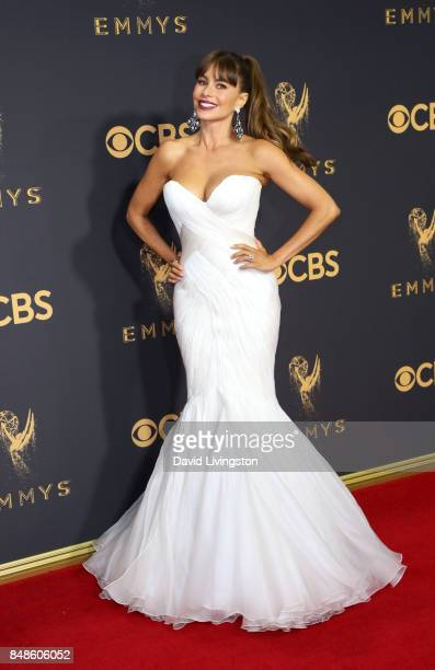 Actor Sofia Vergara attends the 69th Annual Primetime Emmy Awards at Microsoft Theater on September 17, 2017 in Los Angeles, California.