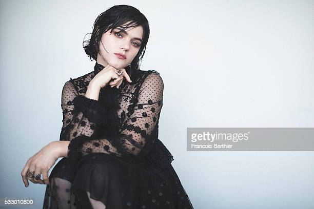 Actor Soko is photographed on May 19 2016 in Cannes France
