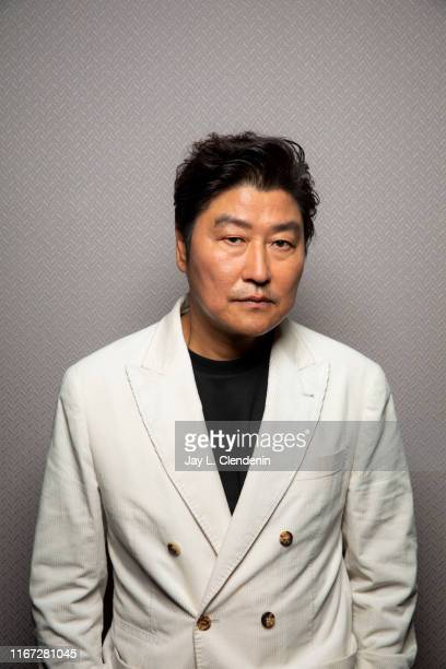 Actor Song Kang Ho from 'Parasite' is photographed for Los Angeles Times on September 7 2019 at the Toronto International Film Festival in Toronto...