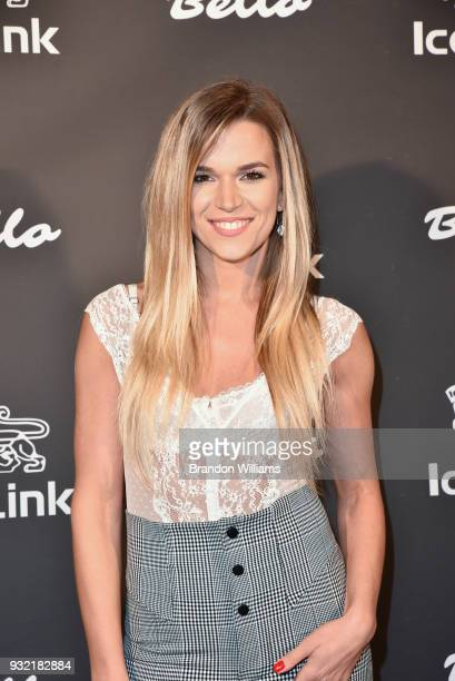 Actor Sonia Alexa attends the Bello Style Magazine release party at IceLink Showroom on March 14 2018 in West Hollywood California