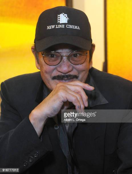 Actor Sonny Chiba attends The Hollywood Show held at Westin LAX Hotel on February 10 2018 in Los Angeles California