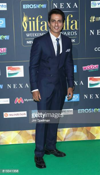Actor Sonu Sood attends the 2017 International Indian Film Academy Festival at MetLife Stadium on July 14 2017 in East Rutherford New Jersey
