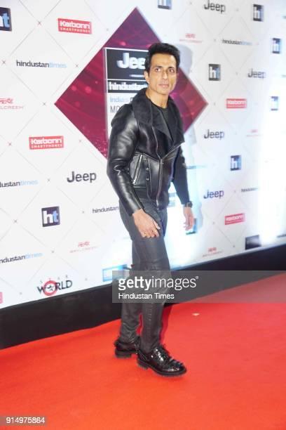 Actor Sonu Sood during Hindustan Times India's Most Stylish Awards 2018 at Yash Raj Studios Andheri on January 24 2018 in Mumbai India
