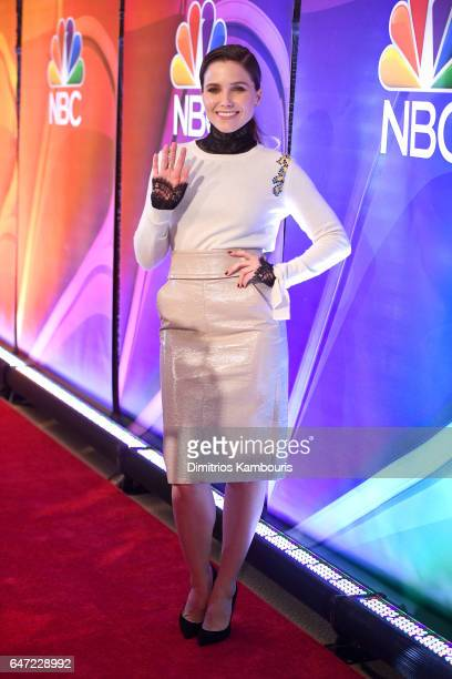 Actor Sophia Bush attends the NBCUniversal Press Junket at the Four Seasons Hotel New York on March 2 2017 in New York City