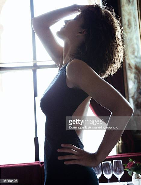 Actor Sophie Marceau at a portrait session for Madame Figaro Magazine in Paris in 2009 Shot at restaurant Le Grand Vefour PUBLISHED IMAGE CREDIT MUST...