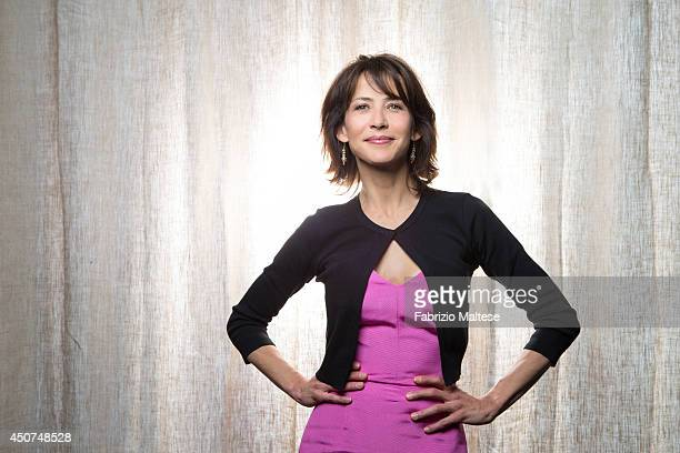 Actor Sophie Marceau is photographed in Cannes, France.