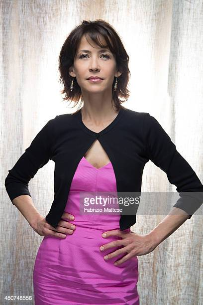 Actor Sophie Marceau is photographed in Cannes France