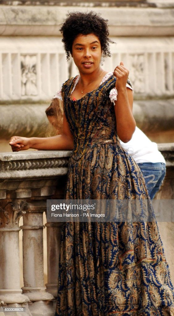 Actor Sophie Okonedo arrives to film her role as Nancy in a BBC production of Oliver Twist scheduled for later this year, outside the High Court in central London today.