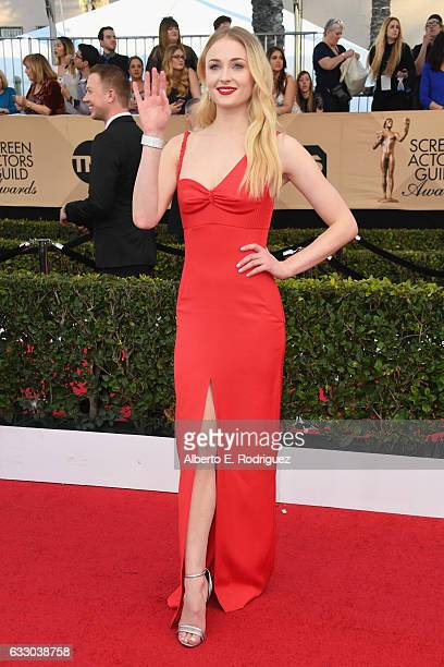 Actor Sophie Turner attends the 23rd Annual Screen Actors Guild Awards at The Shrine Expo Hall on January 29 2017 in Los Angeles California