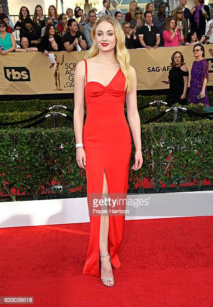 Actor Sophie Turner attends The 23rd Annual Screen Actors Guild Awards at The Shrine Auditorium on January 29 2017 in Los Angeles California 26592_008