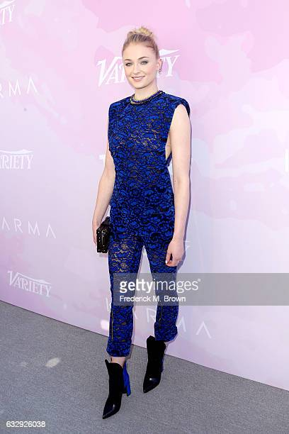 Actor Sophie Turner attends Variety's Celebratory Brunch Event For Awards Nominees benefitting Motion Picture Television Fund at Cecconi's on January...