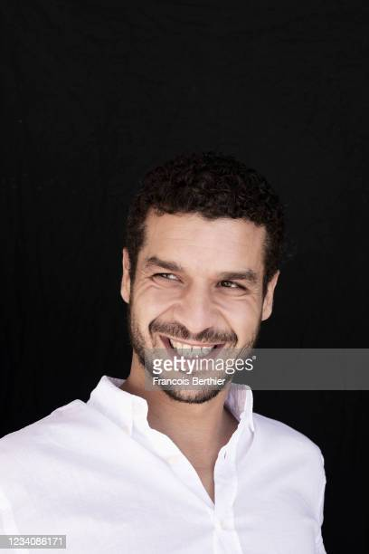 Actor Soufiane Guerrab poses for a portrait during the 74th Cannes International Film Festival, on July 16, 2021 in Cannes, France.