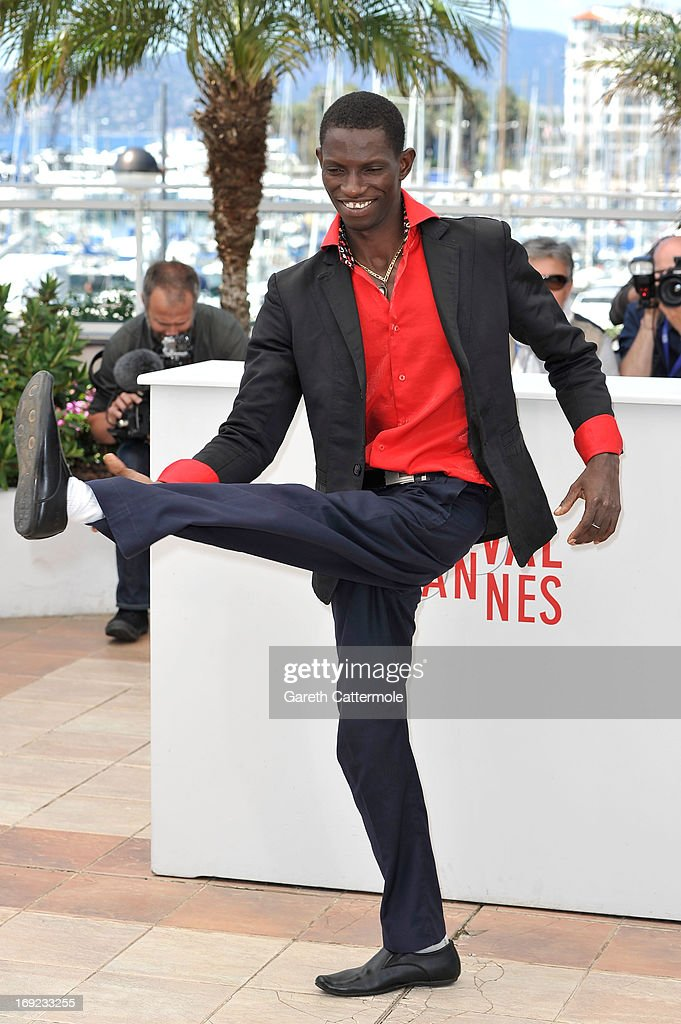 Actor Souleymane Deme attends the 'Grigris' Photocall during the 66th Annual Cannes Film Festival on May 22, 2013 in Cannes, France.