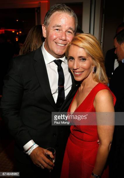 Actor Spencer Garrett and journalist Dana Bash attend the United Talent Agency Honors White House Correspondents hosted by Jay Sures Dan Abrams at...