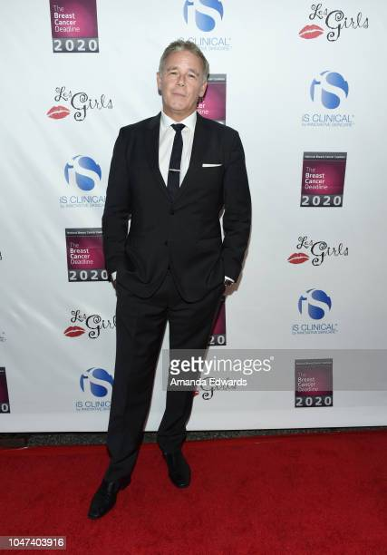 Actor Spencer Garrett arrives at The National Breast Cancer Coalition's 18th Annual Les Girls Cabaret at Avalon Hollywood on October 7 2018 in Los...