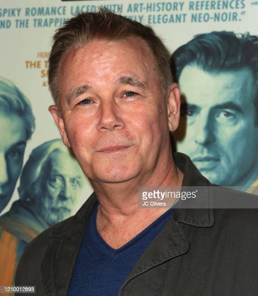 """Actor Spencer Garrett attends the LA special screening of Sony's """"The Burnt Orange Heresy"""" at Linwood Dunn Theater on March 02, 2020 in Los Angeles,..."""
