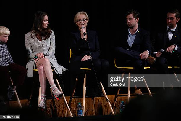 Actor Spencer Howell Actress Lois Robbins actress Robin Skye Actor Zachary Webber actor Nick L Williams attend Meg Ryan's Lifetime Award Presentation...