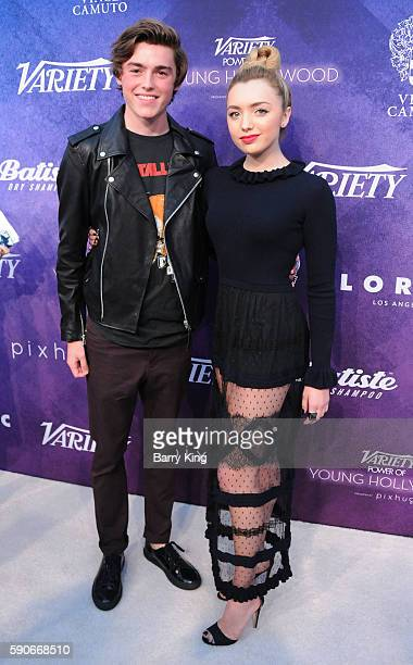 Actor Spencer List and sister actress Peyton List attend Variety's Power of Young Hollywood event presented by Pixhug with Platinum Sponsor Vince...