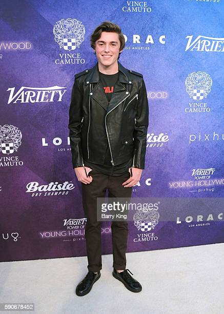 Actor Spencer List attends Variety's Power of Young Hollywood event, presented by Pixhug, with Platinum Sponsor Vince Camuto at NeueHouse Hollywood...
