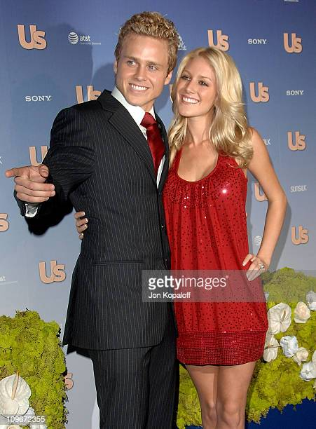 Actor Spencer Pratt and actress Heidi Montag arrive at the Us Weekly's Hot Hollywood 2007 Arrivals at Opera on September 26 2007 in Hollywood...