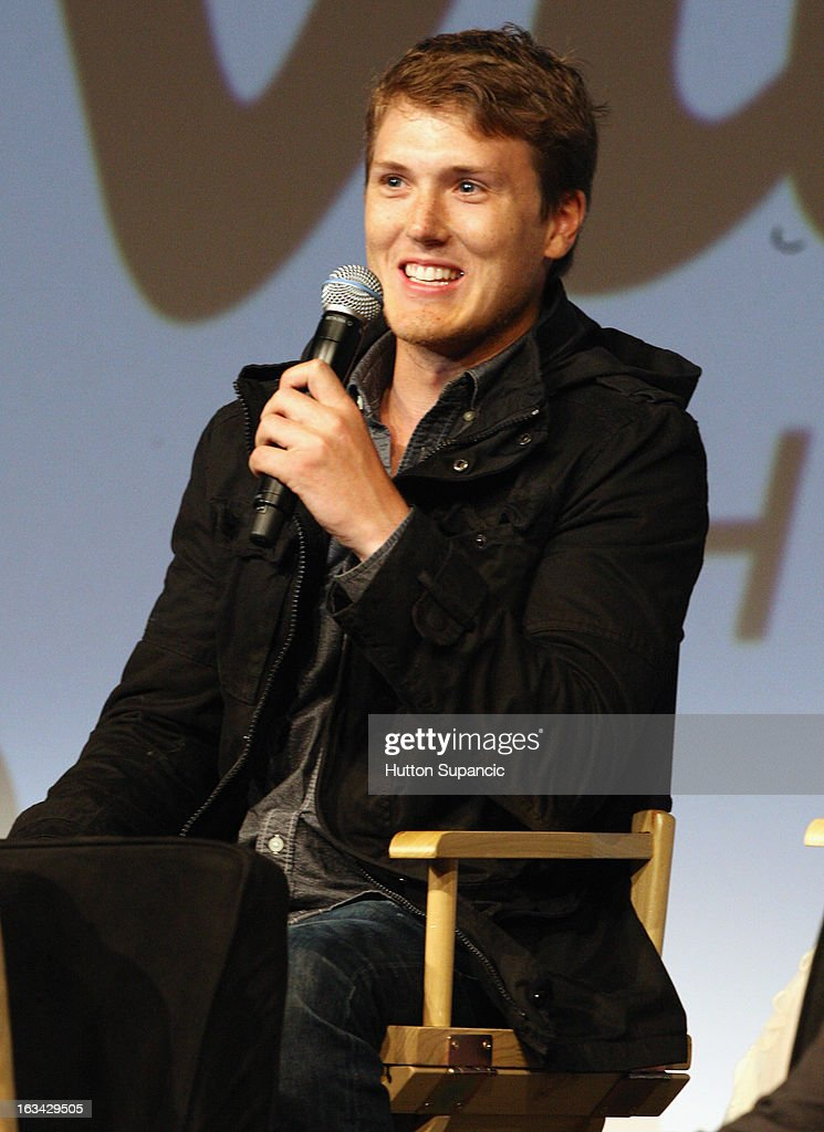 Actor Spencer Treat Clark speaks onstage at the Much Ado About Much Ado Panel during the 2013 SXSW Music, Film + Interactive Festival at Austin Convention Center on March 9, 2013 in Austin, Texas.