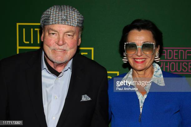 Actor Stacy Keach and his Wife Malgosia Tomassi attend the opening night of Little Shop Of Horrors at the Pasadena Playhouse on September 25 2019 in...