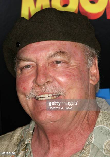 Actor Stacy Keach attends the Fly Me To The Moon film premiere at the Directors Guild of America on August 3 2008 in Los Angeles California