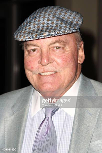 Actor Stacy Keach attends the My Friend Ed Documentary premiere and reception held at UCLA James Bridges Theatre on November 17 2014 in Los Angeles...