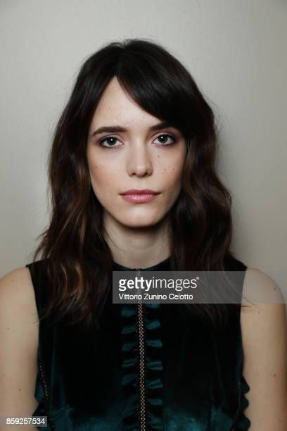 Actor Stacy Martin is photographed during the 61st BFI London Film Festival on October 8 2017 in London England
