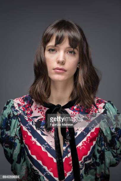 Actor Stacy Martin is photographed for the Hollywood Reporter on May 22 2017 in Cannes France