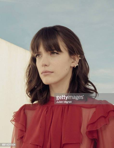 Actor Stacy Martin is photographed on May 21 2017 in Cannes France Published Image
