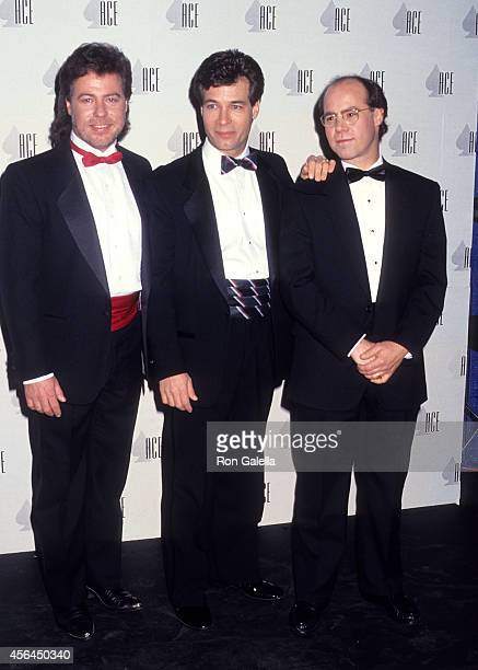 Actor Stan Livingston actor Don Grady and actor Barry Livingston attend the 12th Annual CableACE Awards on January 13 1991 at the Wiltern Theatre in...