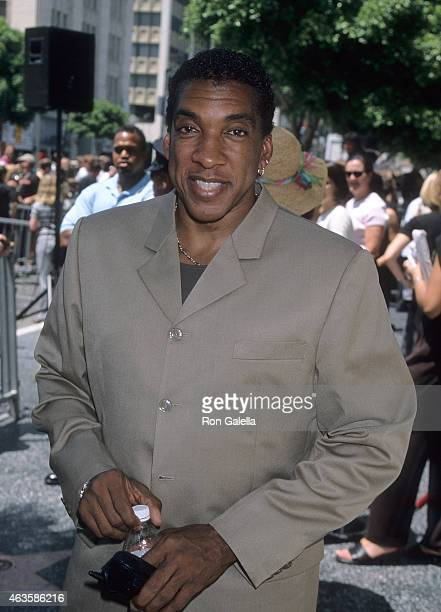 Actor Stan Shaw attends Nicolas Cage receives a star on the Hollywood Walk of Fame on July 31 1998 at 7021 Hollywood Boulevard in Hollywood California
