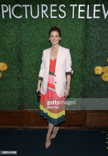 """Actor Stana Katic of the new Sony Pictures Television series """"Absentia"""" attends the Sony Pictures Television LA Screenings Party at Catch LA on May..."""
