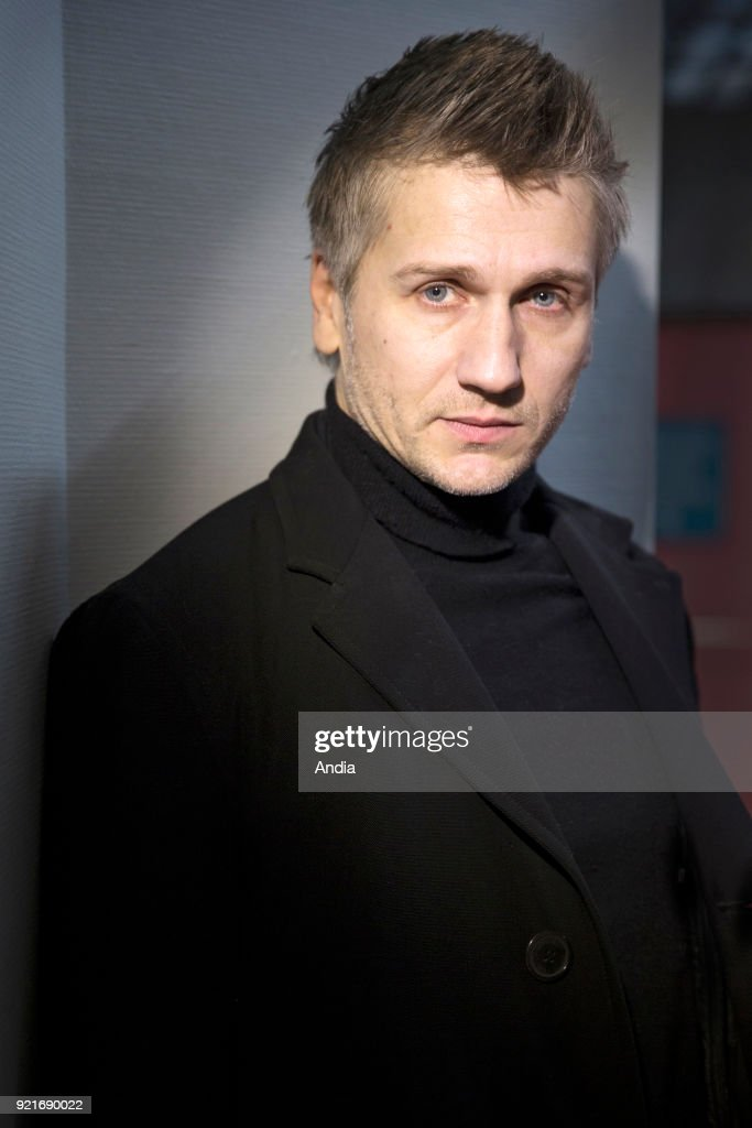 Actor Stanislas Merhar at the Angers Film Festival 'Premiers Plans 2015' ().