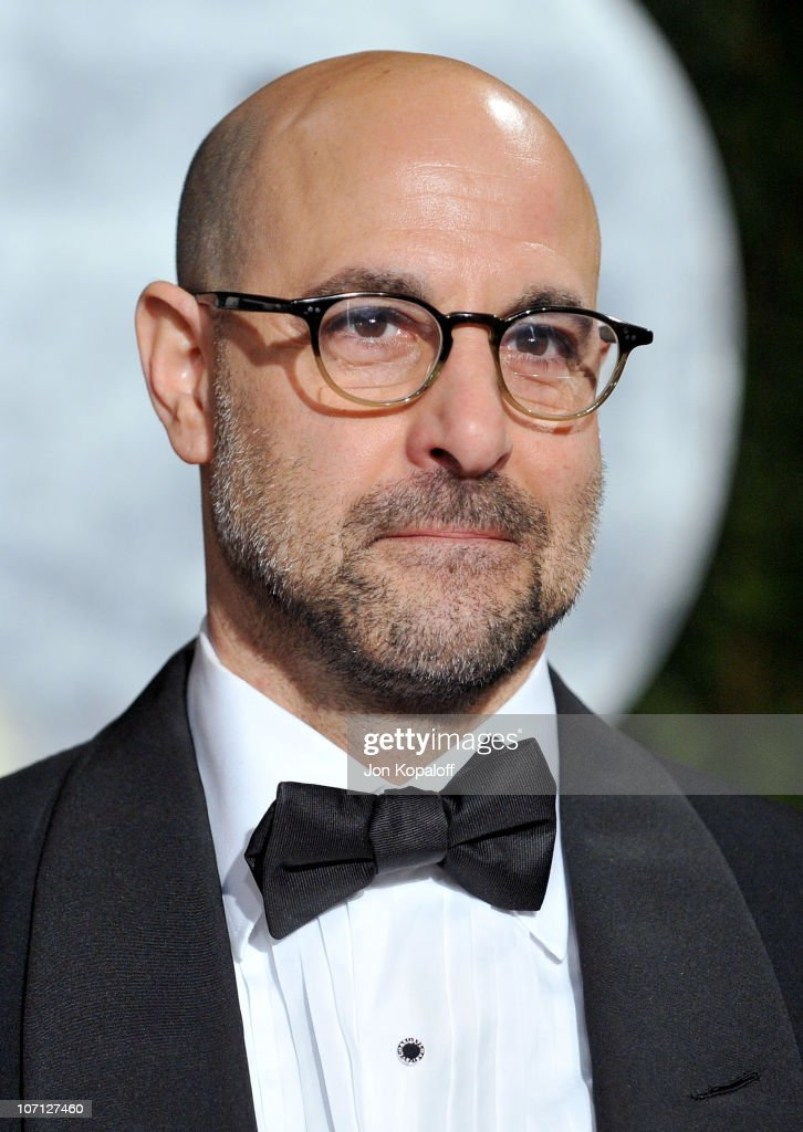 Actor Stanley Tucci arrives at the 2010 Vanity Fair Oscar Party held at Sunset Tower on March 7, 2010 in West Hollywood, California.