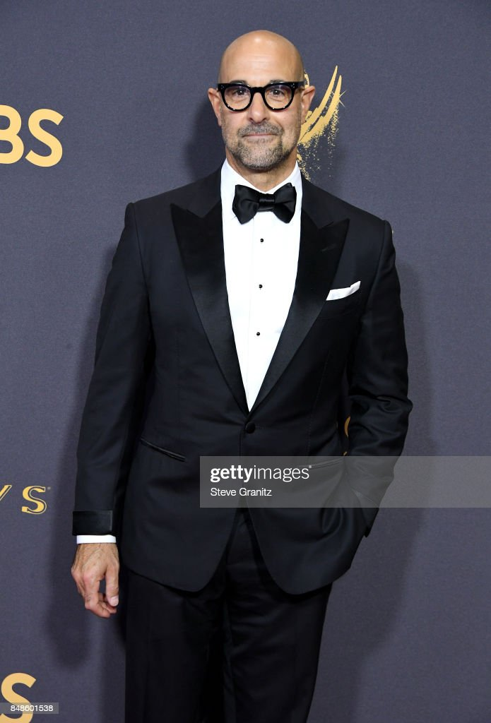 Actor Stanley Tucci attends the 69th Annual Primetime Emmy Awards at Microsoft Theater on September 17, 2017 in Los Angeles, California.