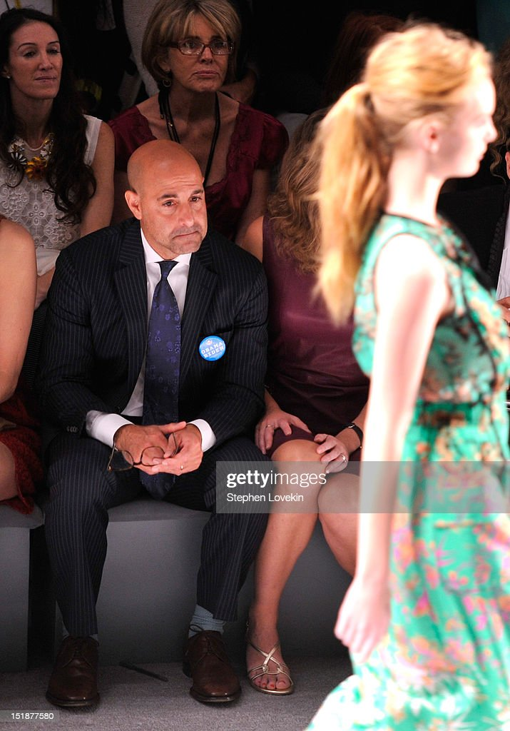 Actor Stanley Tucci attends the Nanette Lepore Spring 2013 fashion show during Mercedes-Benz Fashion Week at The Stage Lincoln Center on September 12, 2012 in New York City.