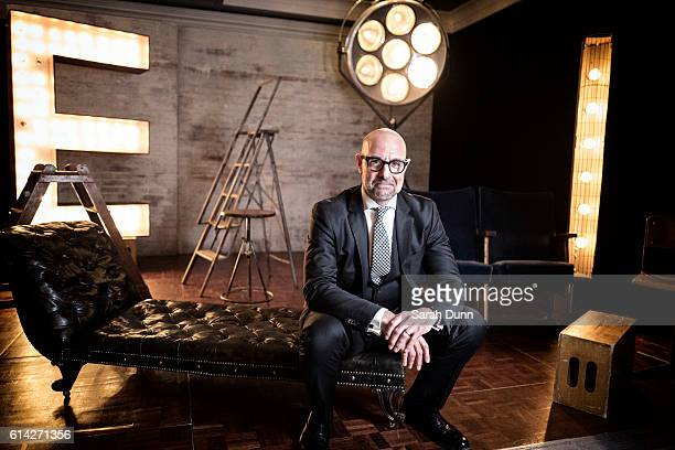 Actor Stanley Tucci is photographed for Empire magazine on March 20 2016 in London United Kingdom