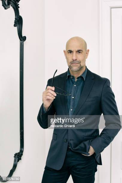 Actor Stanley Tucci is photographed for Self Assignment on February 2018 in Rome Italy