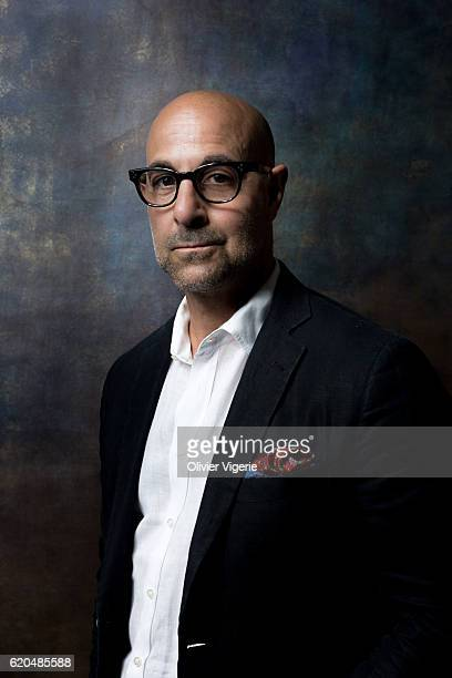 Actor Stanley Tucci is photographed for Self Assignment on September 3 2016 in Deauville France