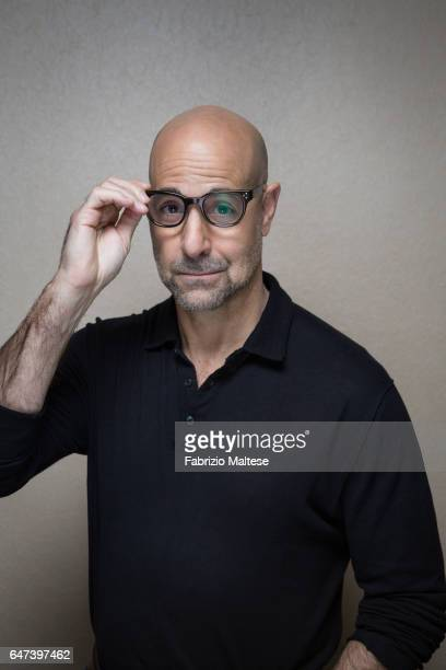 Actor Stanley Tucci is photographed for The Hollywood Reporter on February 13 2017 in Berlin Germany