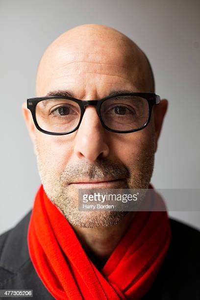 Actor Stanley Tucci is photographed for the Sunday Times magazine on January 8 2015 in London England