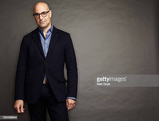 Actor Stanley Tucci photographed for Self Assignment on March 26 2012 in New York City