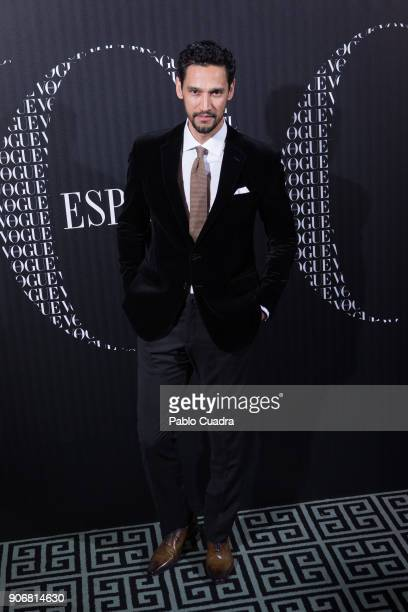 Actor Stany Coppet attends a dinner hosted by Vogue for Victoria Beckham to celebrate the February issue of Vogue Magazine at Santo Mauro Hotel on...