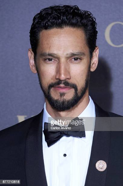 Actor Stany Coppet attends the Vanity Fair Personality of the Year party at the Ritz Hotel on November 21 2017 in Madrid Spain