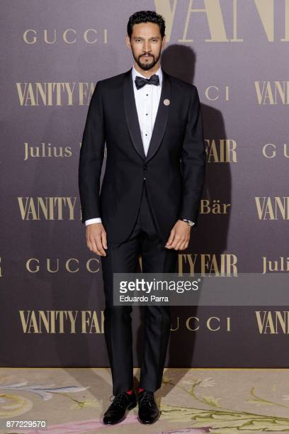 Actor Stany Coppet attends the 'Vanity Fair Personality of the year' photocall at Ritz hotel on November 21 2017 in Madrid Spain