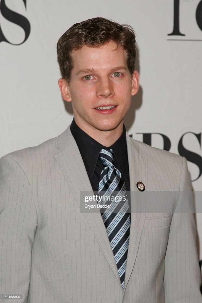 Actor Stark Sands attends the 2007 Tony Awards nominees press reception at the Marriott Marquis on May 16, 2007 in New York City.