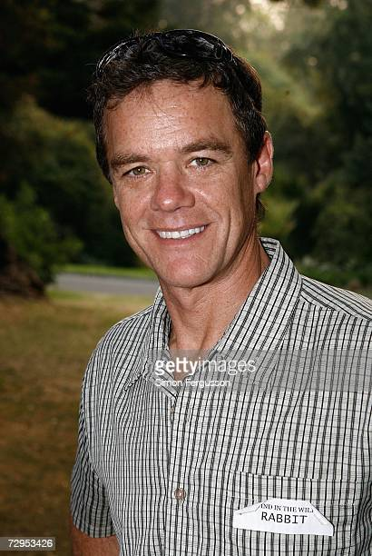 Actor Stefan Dennis attends 'The Wind in the Willows' opening night in Melbournes Botanical Gardens on January 9 2007 in Melbourne Australia